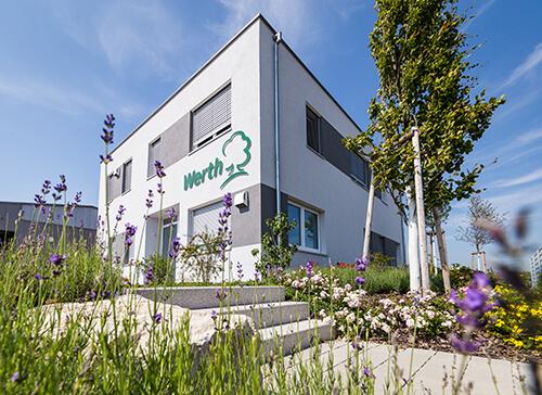 Werth Grünpflege Verwaltungsgebäude